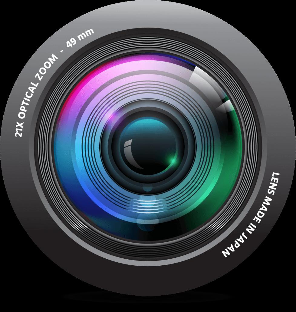 Lens into Camera